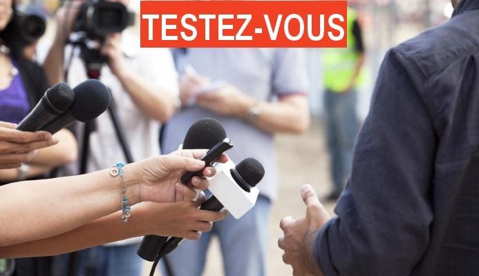test de l'interview