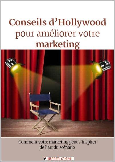 ebook conseils d' Hollywood pour améliorer votre marketing (storytelling de marque)