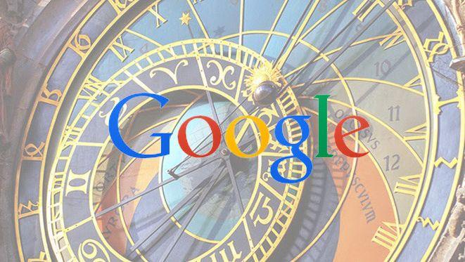 google intègrera le temps passé