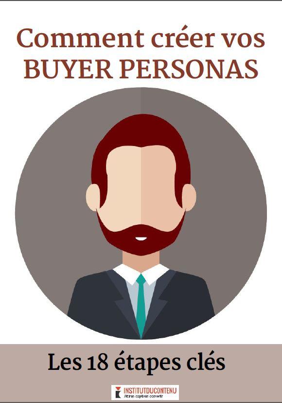 Exemple : l' e-book Buyer Personas de l'Institut du contenu