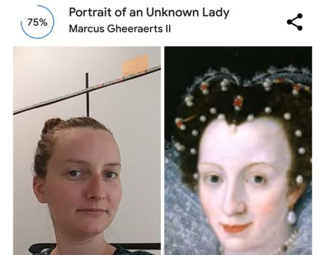 e-mailing et optique : Google art selfie sans lunettes