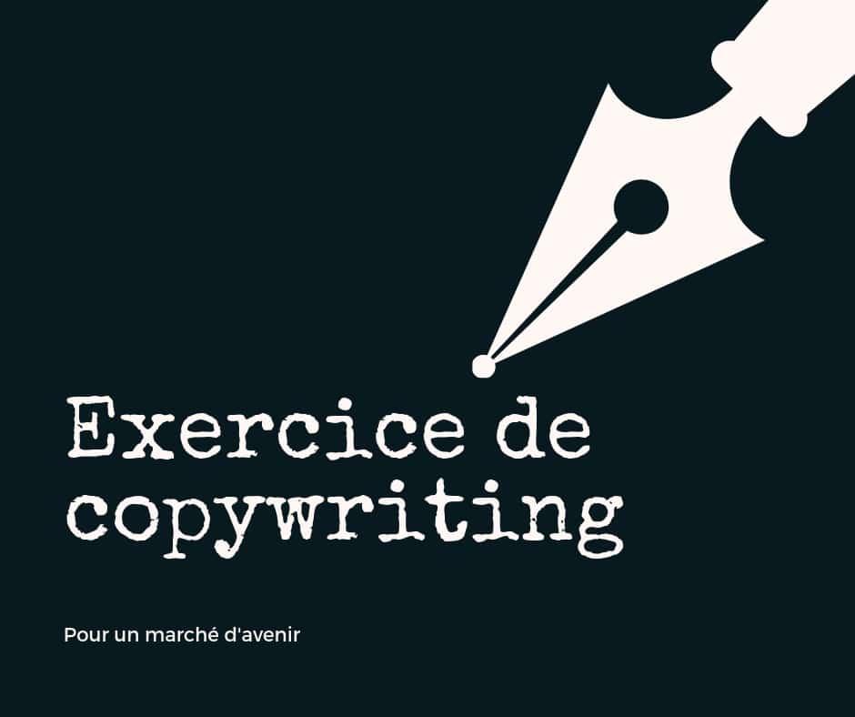 exercice de copywriting