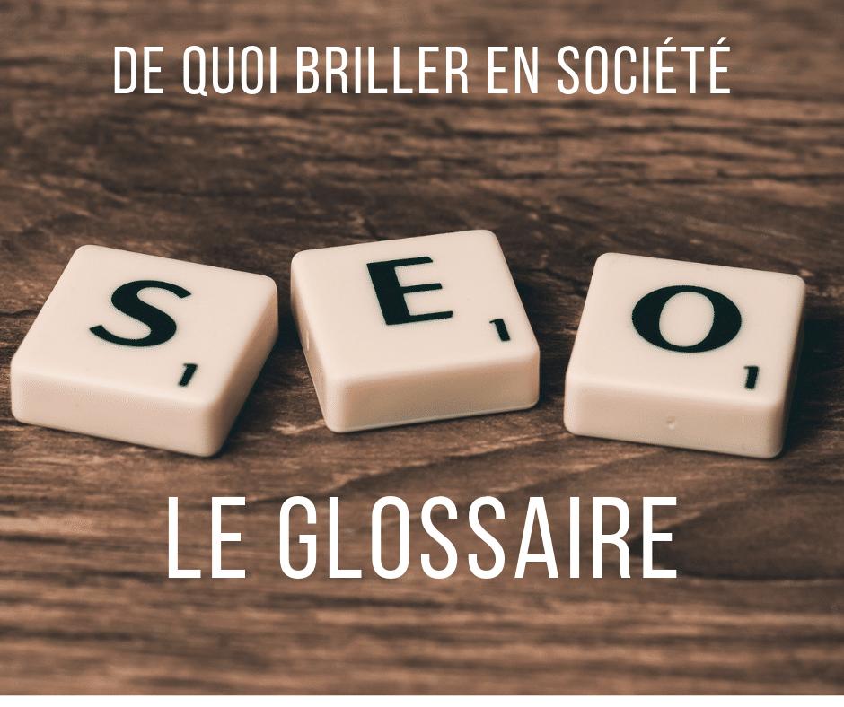 Le glossaire du SEO par l'Institut du contenu
