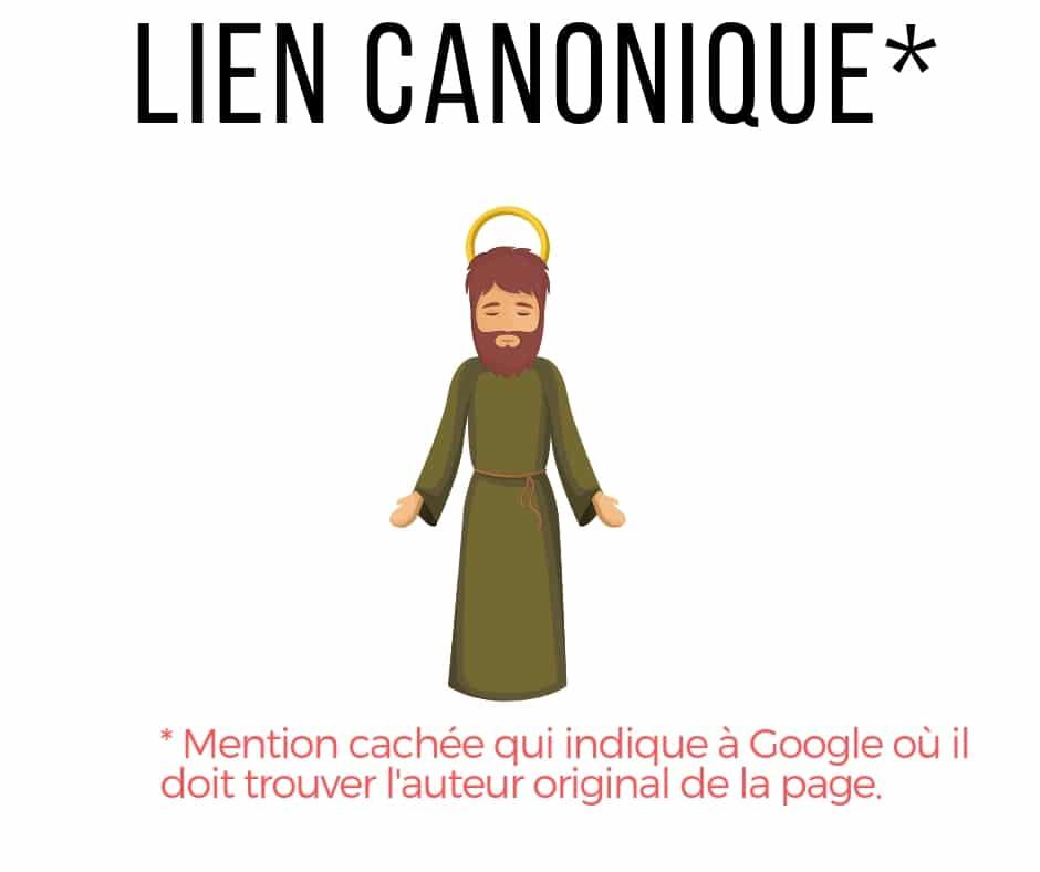 lien canonique - définition